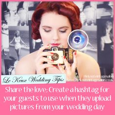 Wedding tips from vintage hen party and bridal hair and make up company www.lekeuxvintagesalon.co.uk