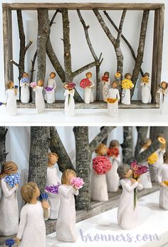 Shop all of our simple yet elegant Willow Tree® figures both in-store and online! A perfect gift for someone special in your life. www.bronners.com