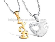 stainless steel 2015 Newly fashion pure handicraft 925 Sterling Silver Heart key pendant wholesale