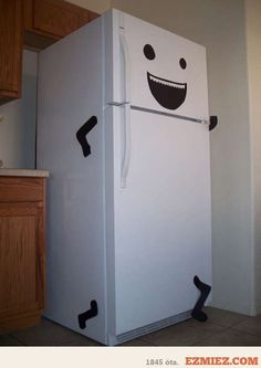 Your fridge is running again!