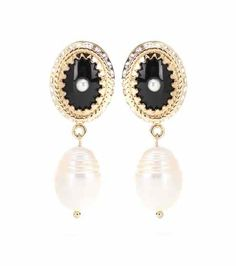 Embellished clip-on earrings | Givenchy