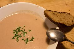 Zwiebelcremesuppe