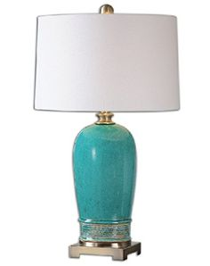"31.5"" Turquoise Blue Crackle Decoraive Ceramic Table Lamp Diva At Home http://www.amazon.com/dp/B00Z12VVZK/ref=cm_sw_r_pi_dp_1EFDvb1CP2JJ3"
