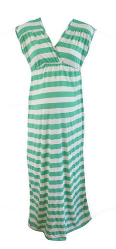 Green Maxi Dress by P Inc Maternity - Maternity Clothing - Flybelly Maternity Clothing