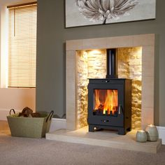 Buy Flavel Arundel Multifuel Wood Burning Stove securely online today at a great price. Flavel Arundel Multifuel Wood Burning Stove available today at Fireplace And . Wood Burner Fireplace, Inglenook Fireplace, Fireplace Hearth, Fireplace Design, Fireplace Lighting, Gas Log Burner, Gas Stove Fireplace, Alcove Lighting, Fireplace Tiles