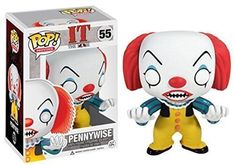 Funko Stephen King It Pennywise Classic Pop Vinyl Figure Collect them All! Stands 3 inches tall Funko did it again! It Pennywise, Pennywise The Dancing Clown, Penny Wise Clown, Scary Clown Costume, Scary Clowns, Pop Vinyl Figures, Funko Pop Horror, Suicide Squad, Funko Pop Dolls