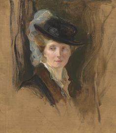 Mrs Philip de László, née Lucy Guinness, by Philip Alexius de László