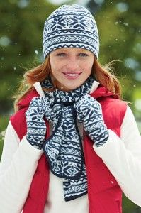 Winter accessories with Lands End coupon codes