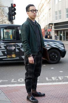 John Jarrett - GQ - London Street Style.