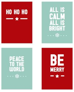 Free Documenting December 2013 Text Filler Cards