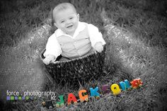 Name Train coming through . . .  6 months old  http://www.forcephotographykc.com