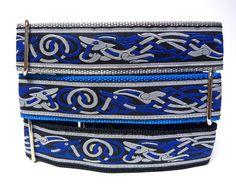 1.5 Blue CELTIC DOG Martingale Dog Collar by GreytEscape on Etsy