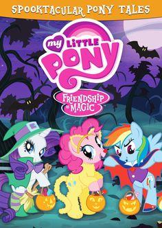 MLP My Little Pony Friendship is Magic Spooktacular Pony Tales DVD + print a free My Little Pony Pumpkin Carving Stencil Mlp, Fluttershy, Rainbow Dash, Rainbow Magic, Tara Strong, Mimi Love, Hasbro Studios, Pumpkin Stencil, Pumpkin Carving