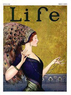 Wladyslaw Teodor Benda, Life magazine cover, 1922