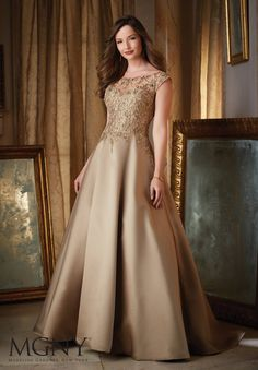 MGNY Madeline Gardner New York 71431 Chic Boutique: Largest Selection of Prom, Evening, Homecoming, Quinceanera, Cocktail dresses & accessories. Cute Dresses, Prom Dresses, Wedding Dresses, Dressy Dresses, Bride Dresses, Saree Wedding, Gold Party Dress, Dress Indian Style, Mom Dress