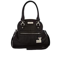 black zip lock bag - River Island