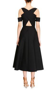 Button-Front A-Line Midi Dress by Carven - Moda Operandi