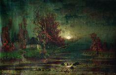 The Athenaeum - Autumn Evening (Julius Klever - )