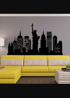 New York wall Paint ideas