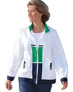 KLJR Women Zipper Solid Bomber Flight Jacket Pants Jumpsuit Romper Green US M