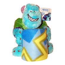 Disney Pixar #MonstersUniversity #Sulley Hugger and Throw, #ToysRUs exclusive!