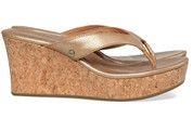 Bronzen/Gouden Ugg schoenen Natassia slippers