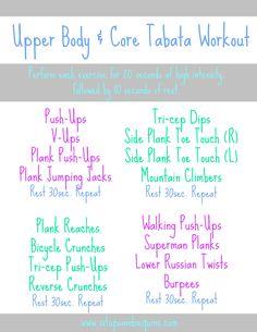 tabata floor exercises - Google Search