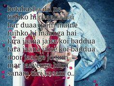 Sanam teri kasam K Quotes, Song Lyric Quotes, Poetry Quotes, Hindi Quotes, Movie Quotes, Sanam Teri Kasam Movie, Bollywood Movie Songs, Song Images, Movie Dialogues