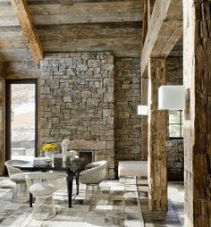 rustic modern home | rustic spaces and ideas | pinterest | modern