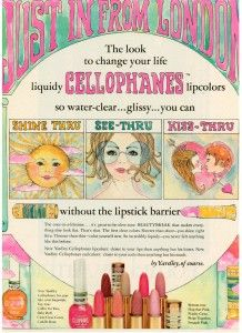 Yardley of London Cellophanes Lipcolor 1969 | Musings from Marilyn - Finnfemme Blog