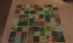 The first quilt I made on my own. It's a sudoku puzzle!