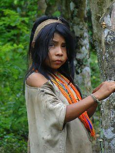 Kogui tribe, from Sierra Nevada de Santa Marta, Colombia, S.A.