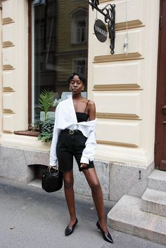Here's how an oversize shirt can work as a good layering piece.