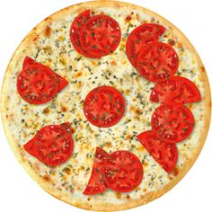 PIZZA NAPOLITA: molho tomate, mussarela, tomate, parmesão e orégano. Pizza, Pepperoni, Food, Pain Au Chocolat, Essen, Meals, Yemek, Eten