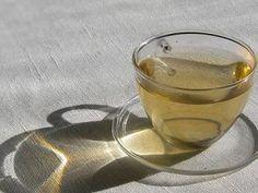 Para emagrecer - Chá verde com framboesa