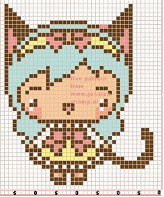165 Free cross stitch designs cats 6 stitchingcharts borduren gratis borduurpatronen poezen katten kruissteekpatronen
