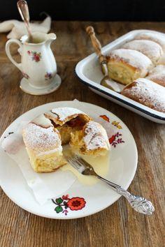 Rezept für Bratapfel Cheesecake Buchteln_