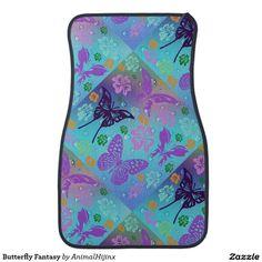 Butterfly Fantasy Car Mats