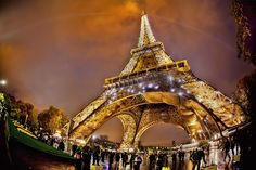 Eiffel la belle.... by Claude Bencimon  Cool - original angle of a much photographed icon.