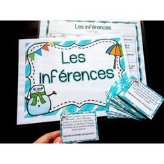 Les inférences - Cartes à tâches - Lot complet! Comprehension Activities, Learning Activities, Kids Learning, Teaching Reading, Teaching Tools, Teacher Resources, Grade 1 Reading, Read To Self, Education And Literacy