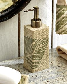 Tommy Bahama - Montauk Drifter Lotion Dispenser