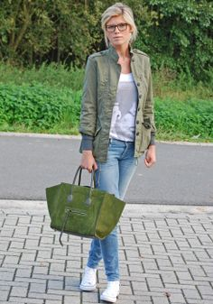 Mirror of Fashion: OUTFIT OF THE DAY // MILLITARY OFF-DUTY