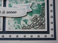 spellbinders ribbon banners | assembled the card as shown adding some dots of Cosmic Shimmer ...