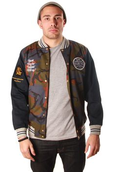 crooks and castles brawlers spring jacket available!http://www.freshlylanded.com/streetwear/brand/Crooks-and-Castles/