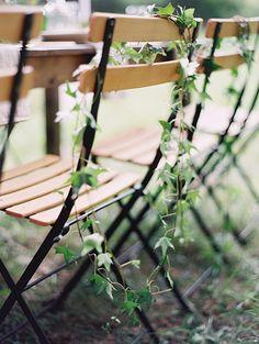 vine chair decor All White Wedding, Fall Wedding, Dream Wedding, Beautiful Farm, Wedding Chairs, Bridal Shoot, Ceremony Decorations, Wedding Inspiration, Wedding Ideas