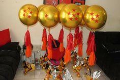 Dragon ball Z Goku Birthday, Dragon Birthday, Dragon Party, Baby Boy 1st Birthday, Boy Baby Shower Themes, Baby Boy Shower, Dbz, Ball Birthday Parties, Birthday Ideas