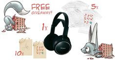 Our Christmas contest is ON! Win these goodies by checking our Facebook page https://www.facebook.com/wearestereofox