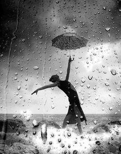 dance in the rain…