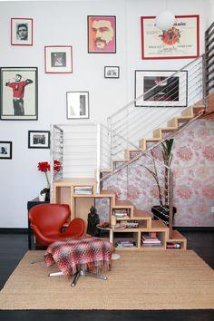 Celeste & Nicolai's Modern Art Loft