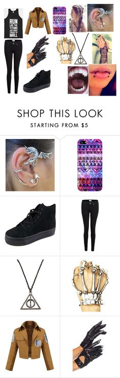 """""""Untitled #64"""" by erementaruartist on Polyvore featuring Casetify, Glamorous and Paige Denim"""